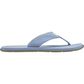 Helly Hansen Seasand HP Sandalias Mujer, coast blue/aluminium/yellow pear